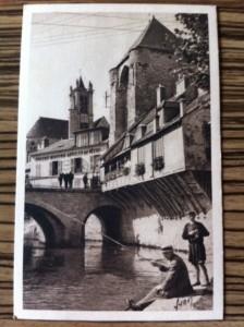 carte postale quatre